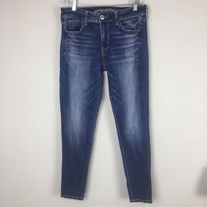 AEO Super Stretch Jegging Skinny Jeans 8 short